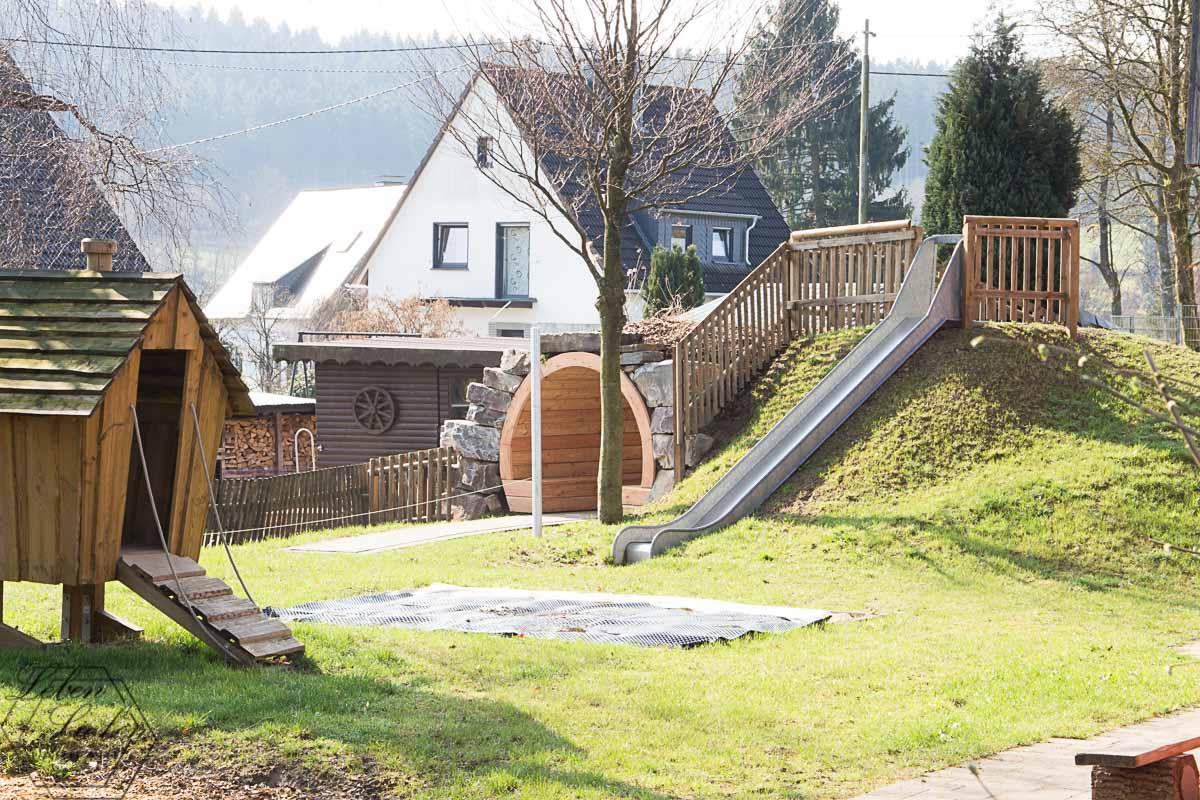 Kinderhaus Außengelände - ein Traum