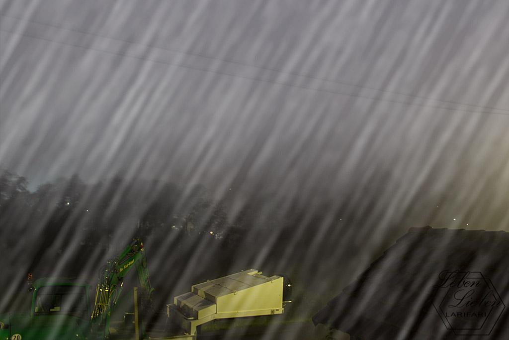 Unwetter in NRW - Regen & Nebel