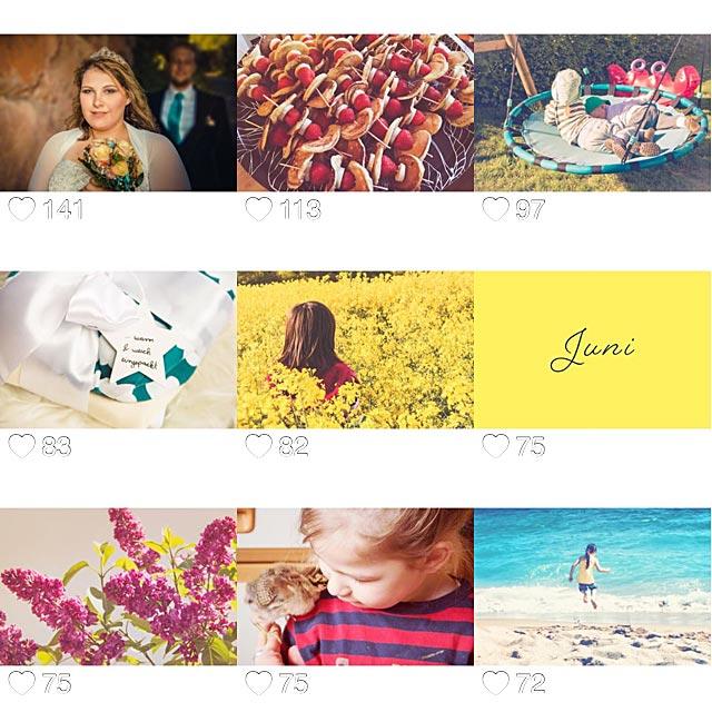 Eure Lieblingsbilder bei Instagram im Juni