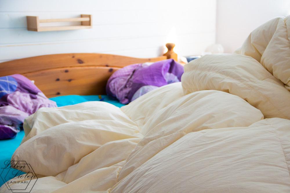 Betten neu beziehen