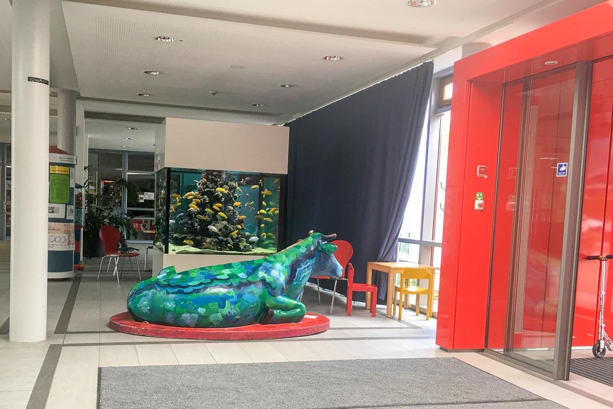 Eingangsbereich der Rheuma-Kinderklinik