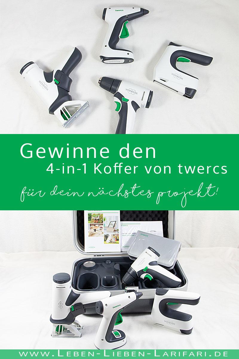 Gewinne den Koffer von twercs für Dein nächstes DIY-Projekt (Verlosung)