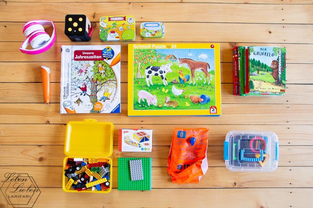 Spielsachen für den Reha-Aufenthalt