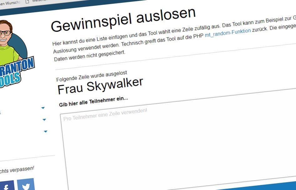 Gewinner*in des 4-in-1-Koffers von Twercs: Frau Skywalker