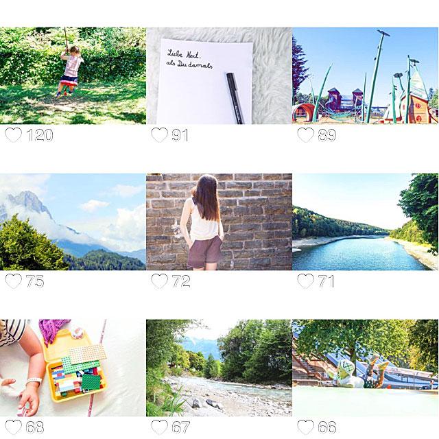 Eure Lieblingsbilder vom August auf Instagram