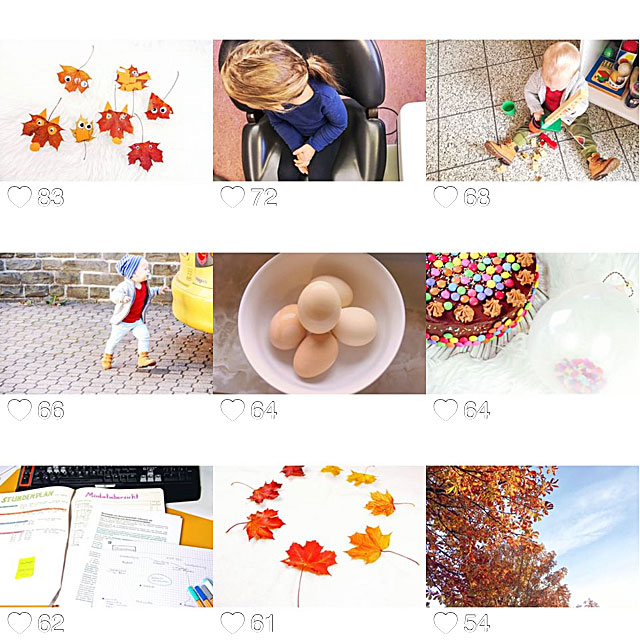 Eure Lieblingsbilder im Oktober
