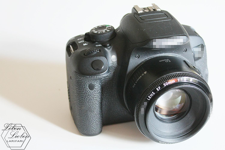 Eins meiner unverzichtbaren Dinge: Meine Kamera
