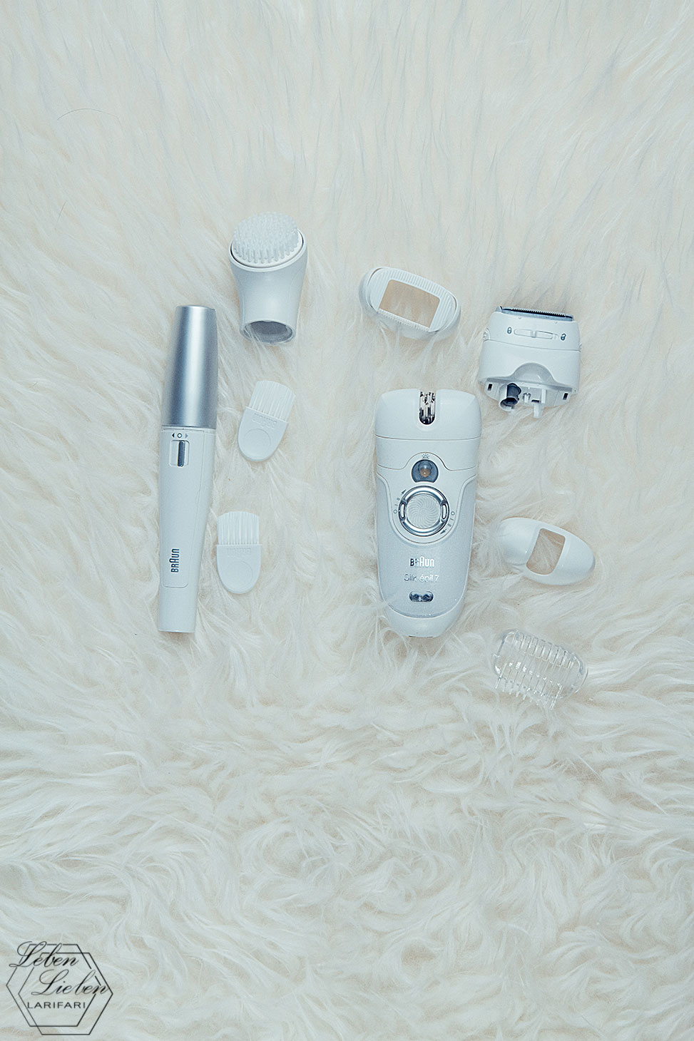 Meine Geräte zur Haarentfernung: Braun Silk épil 7 Wet & Dry und Braun Face Spa