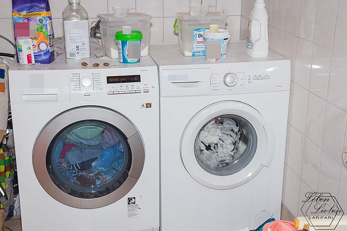Wäsche anschmeißen