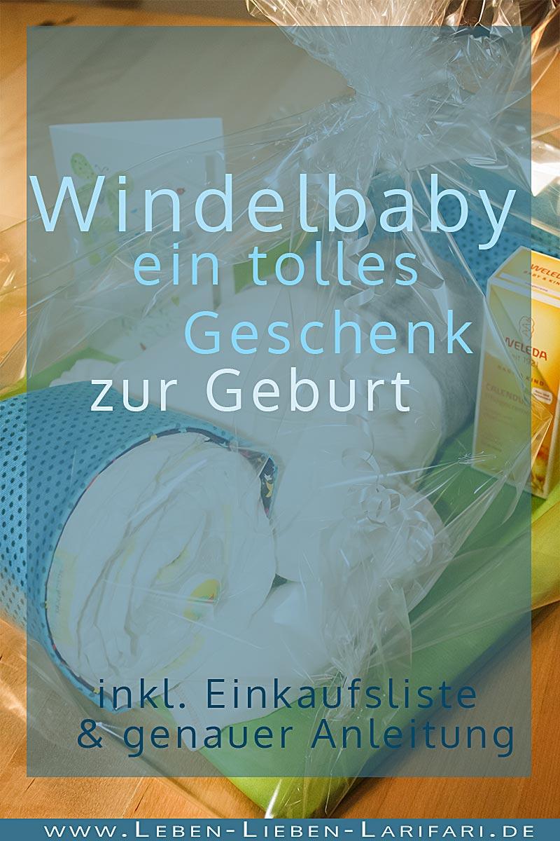 das Windelbaby – ein tolles Geschenk zur Geburt
