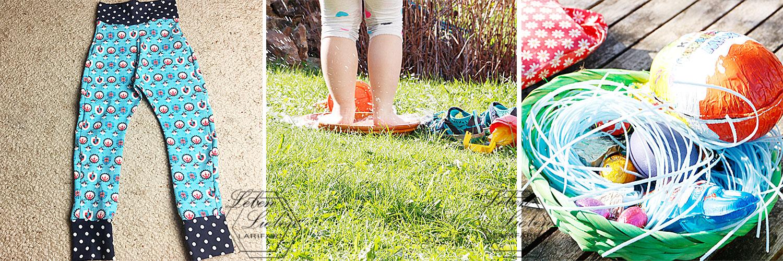 Rückblick April: neue Hose genäht, Sonnenschein genießen, Ostern