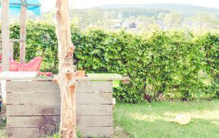 DIY: Wie ich eine Matschküche selbst baute, ohne viel Geld auszugeben
