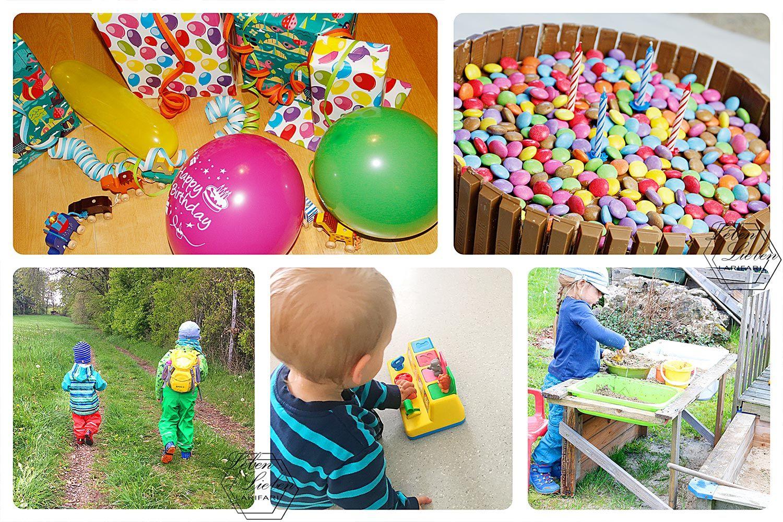 Lottes 4. Geburtstag | Waldwochen | Matschküche | Spielen