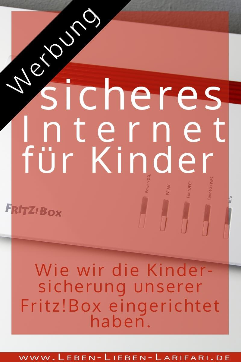 [Werbung] sicheres Internet für Kinder - Kindersicherung mit Fritz!Box