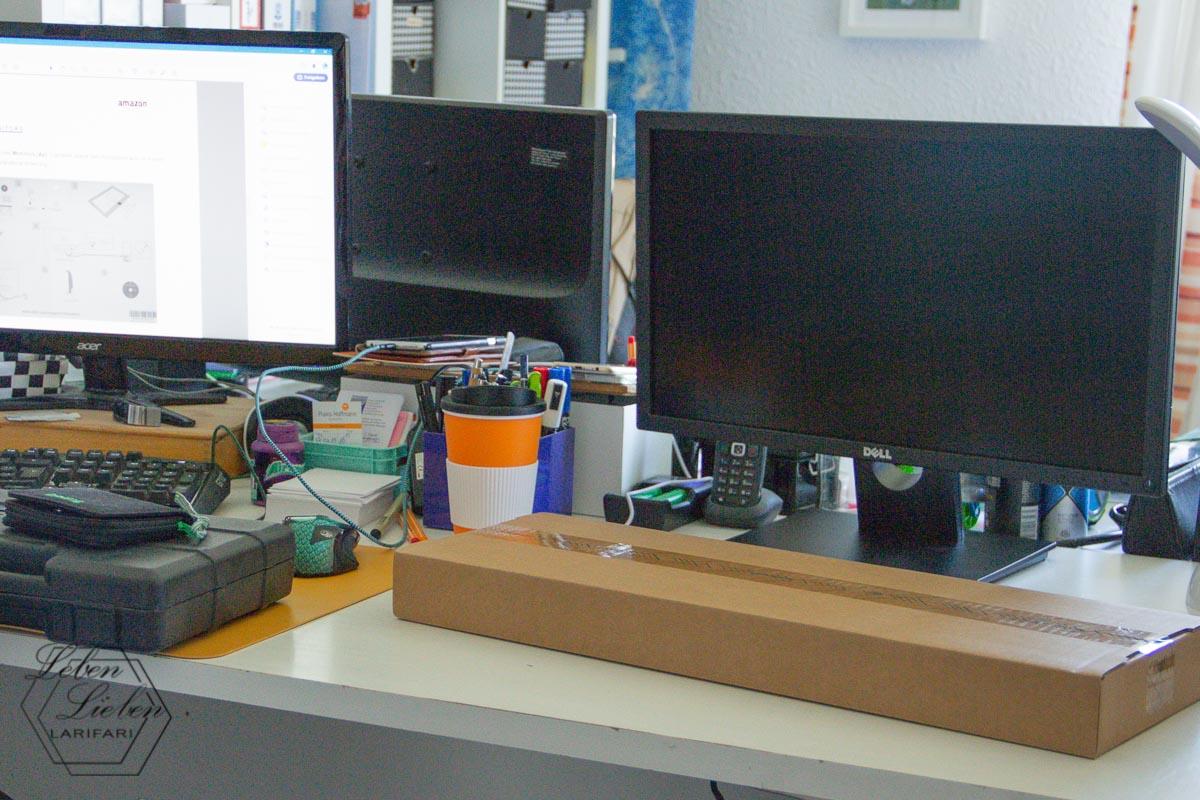 Job-Vorbereitungen beginnen: auspacken und aufbauen