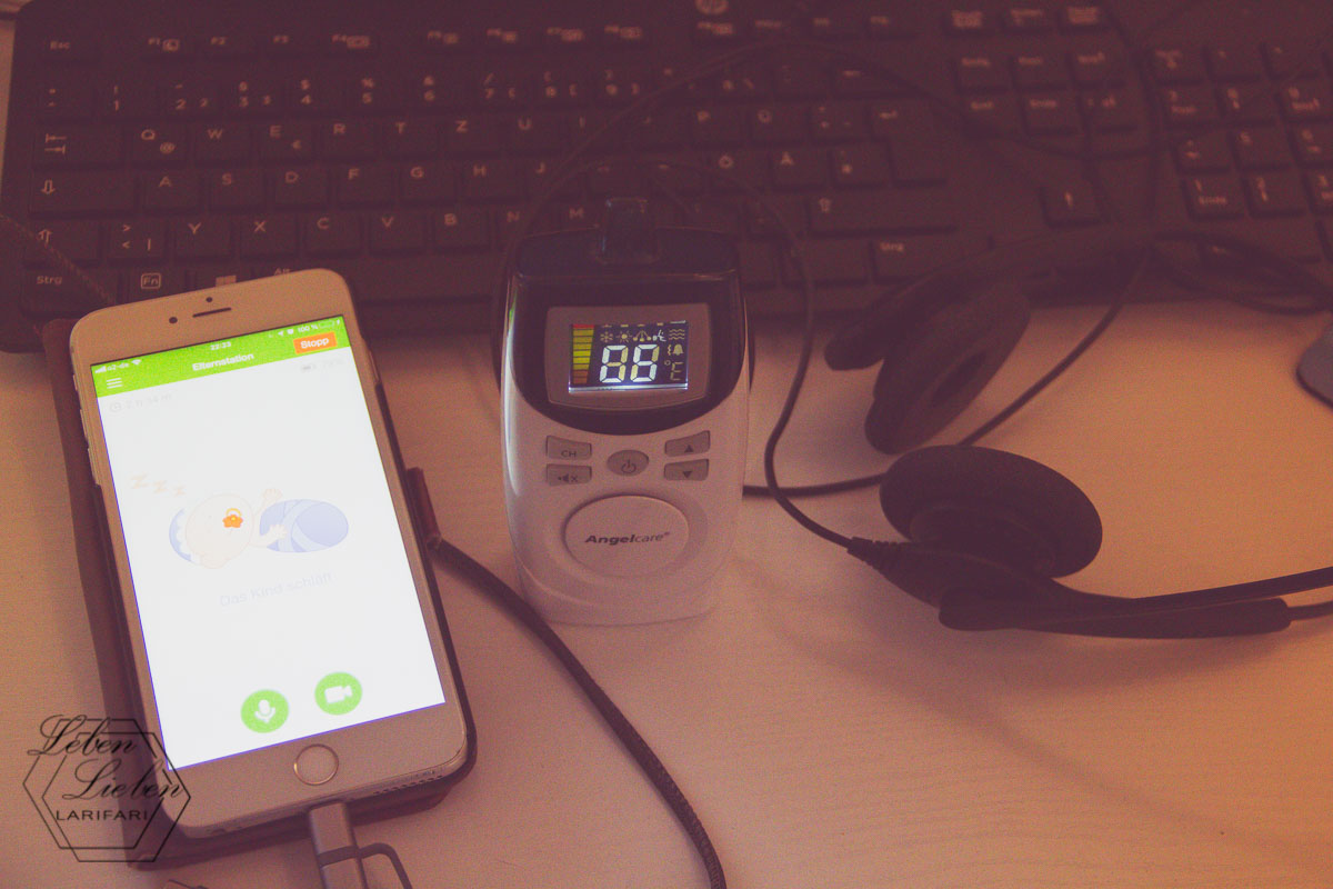 Babyphone bewachen - oder auch: heute klappt's nicht