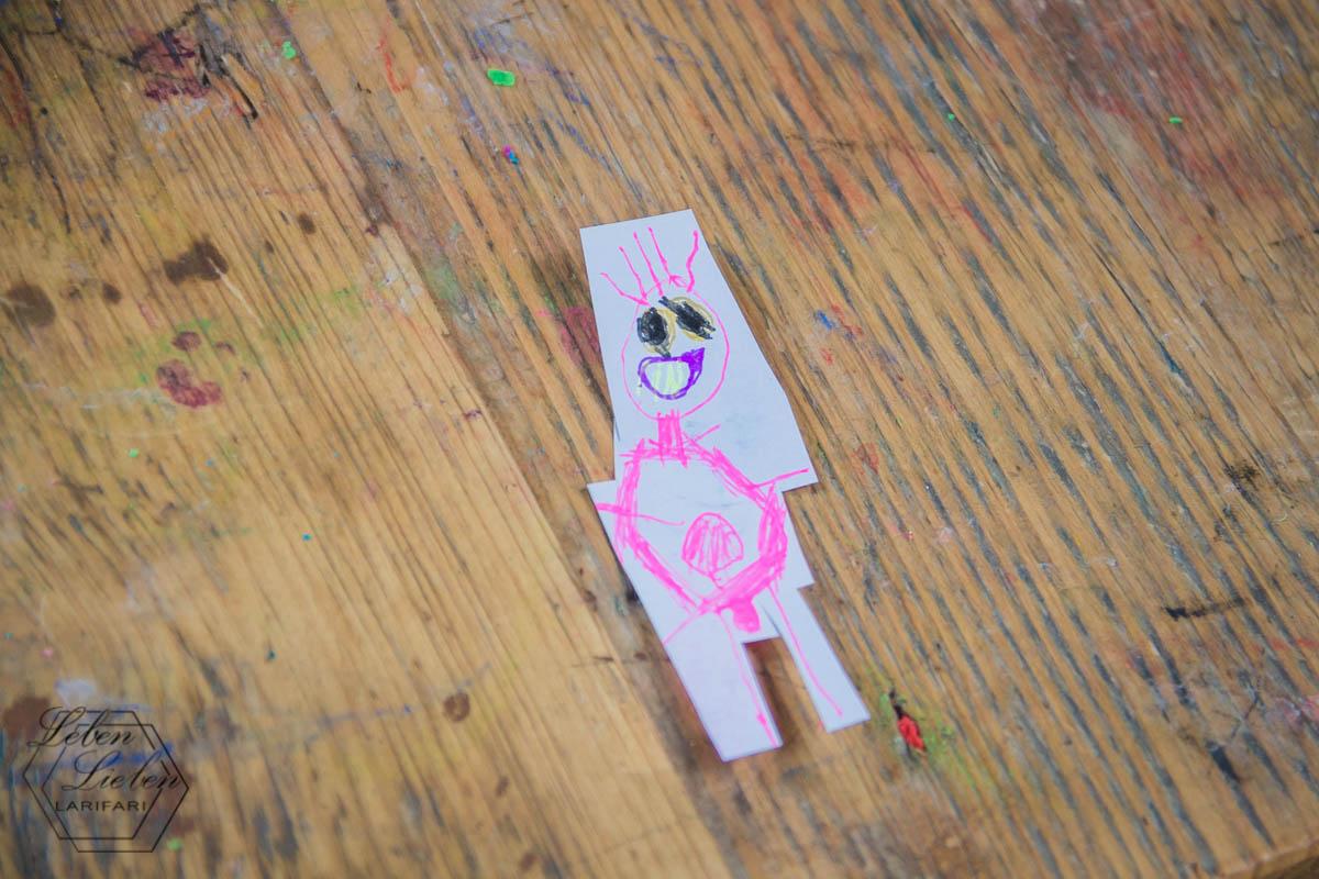 Lotte kreativ: Mama. Mit Bauchnabel