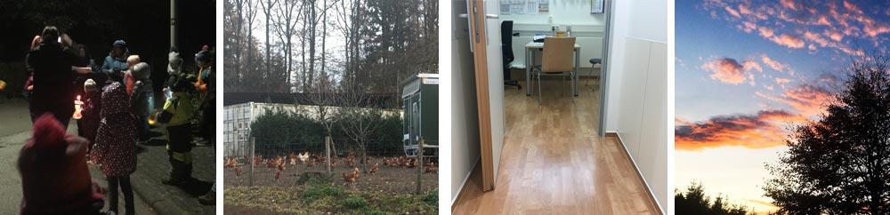 Unser November: Laternenzug, Bauernhofbesuche, im Krankenhaus und gutes Wetter
