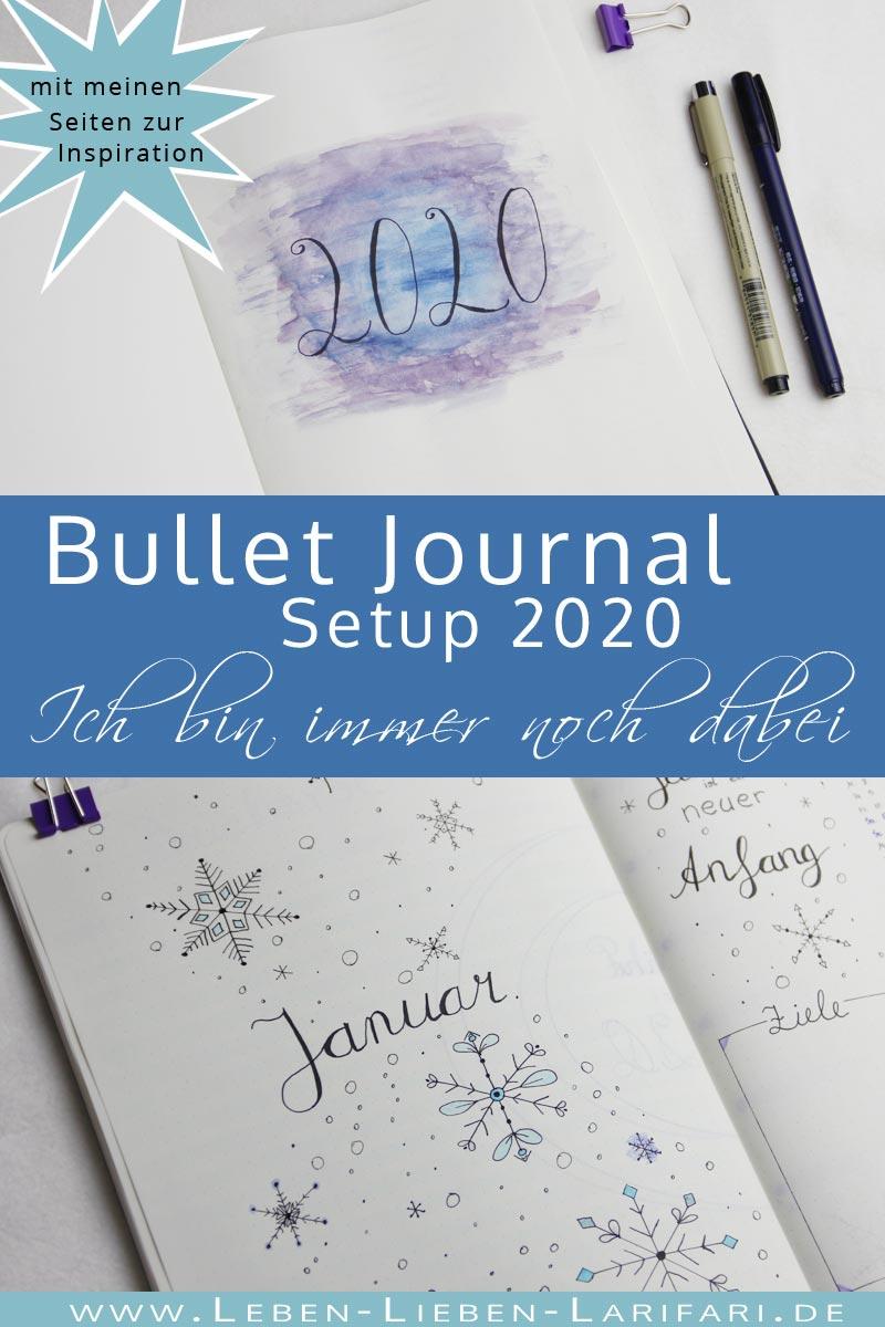 Bullet Journal 2020 Setup – ich bin immer noch dabei!