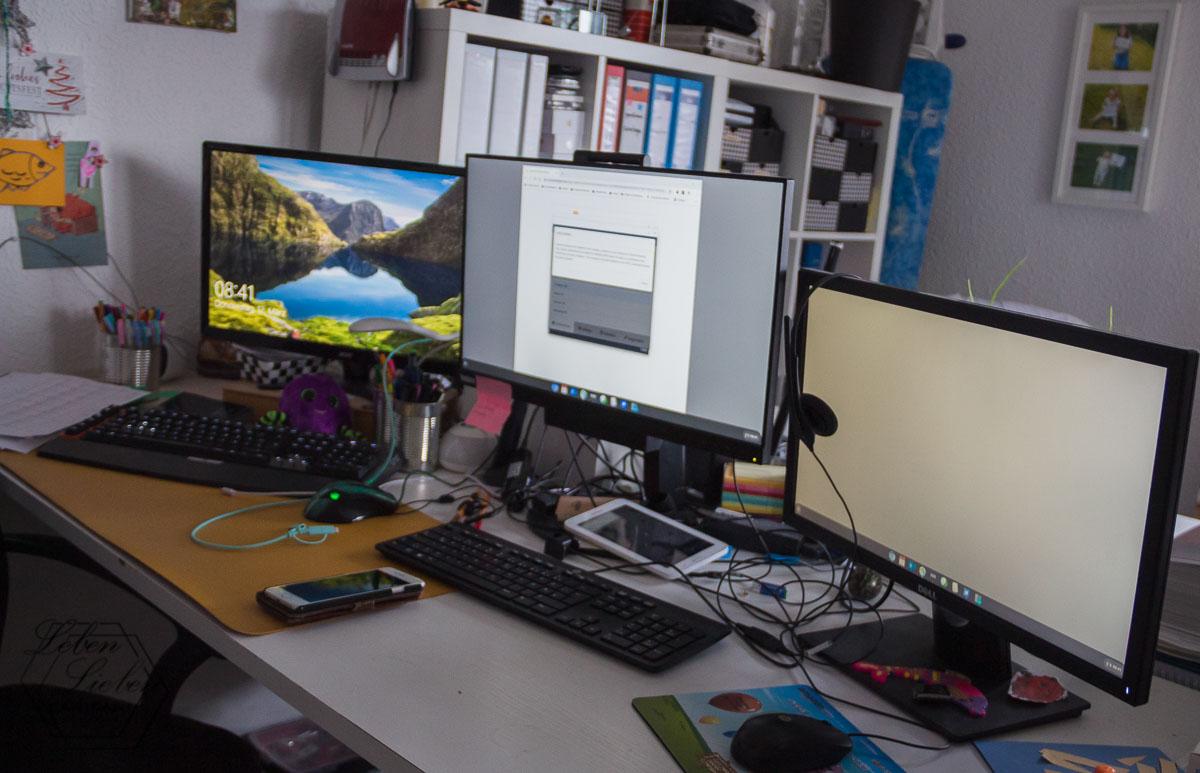 PCs für die Arbeit vorbereiten