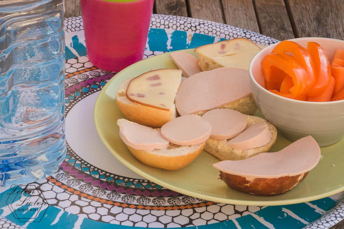 Snack statt warmes Mittagessen