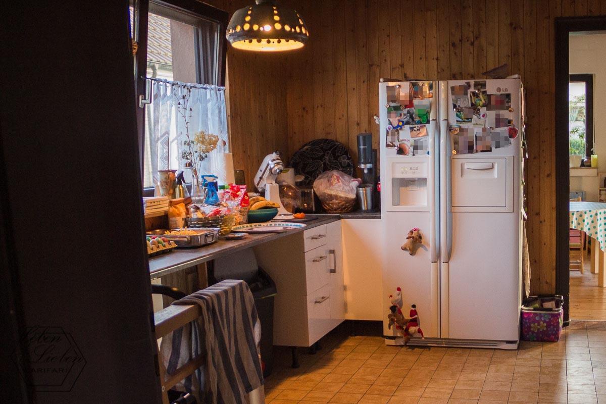 warmes Abendessen - die Küche steht voll