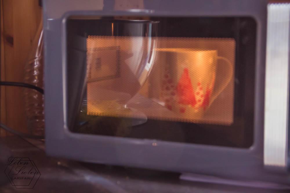 Bildschirmpause - Tee nochmal warm machen