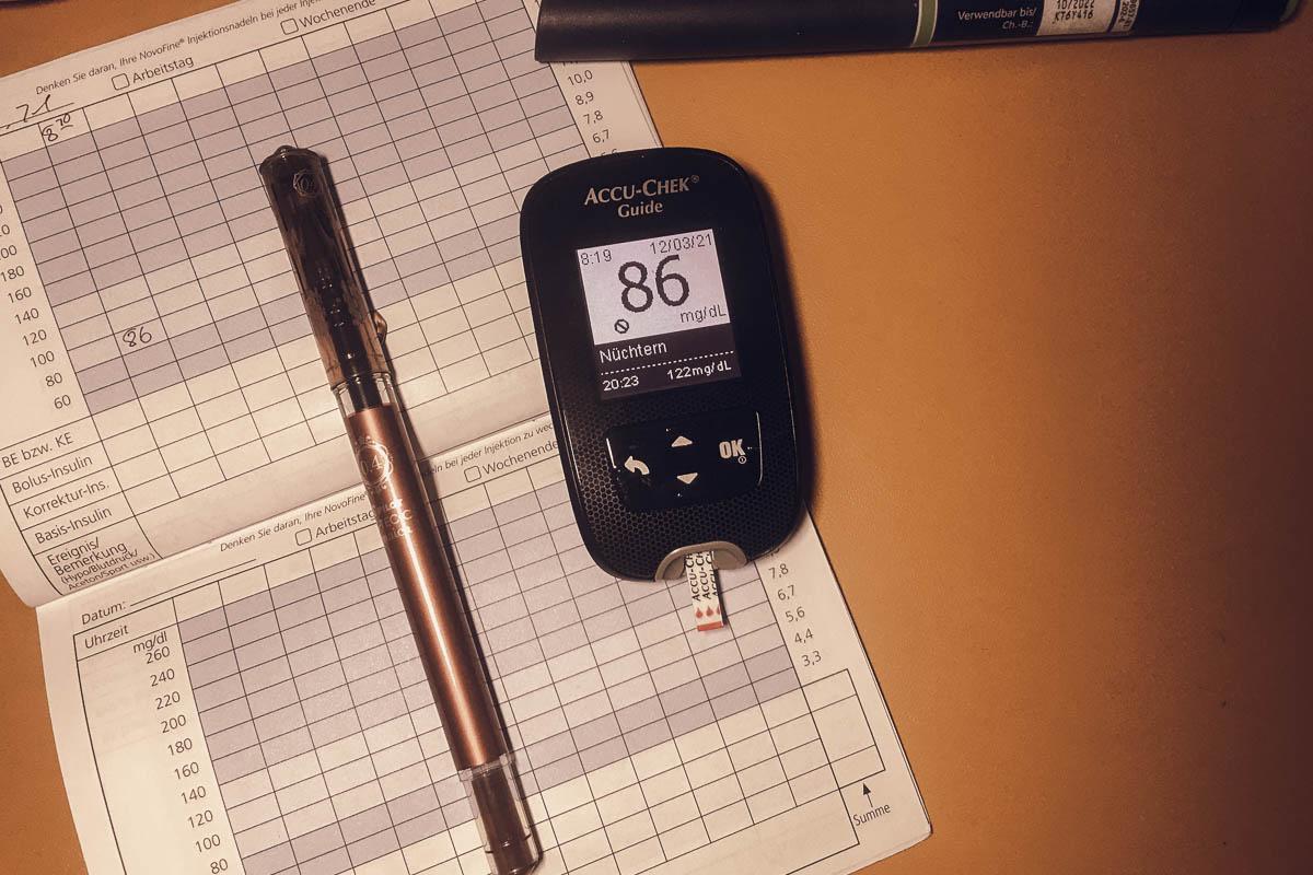 Morgens - Nüchtern Blutzuckerwert messen