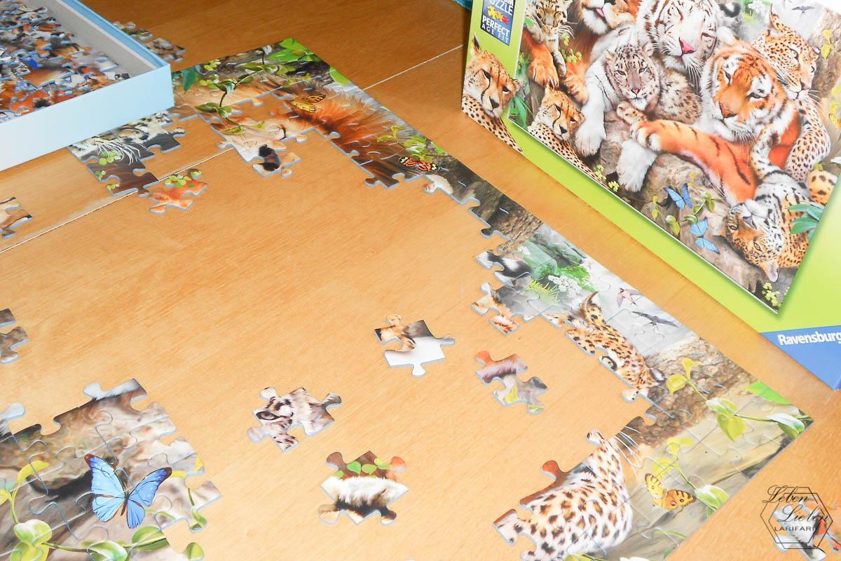 Puzzeln mit dem Mittelkind