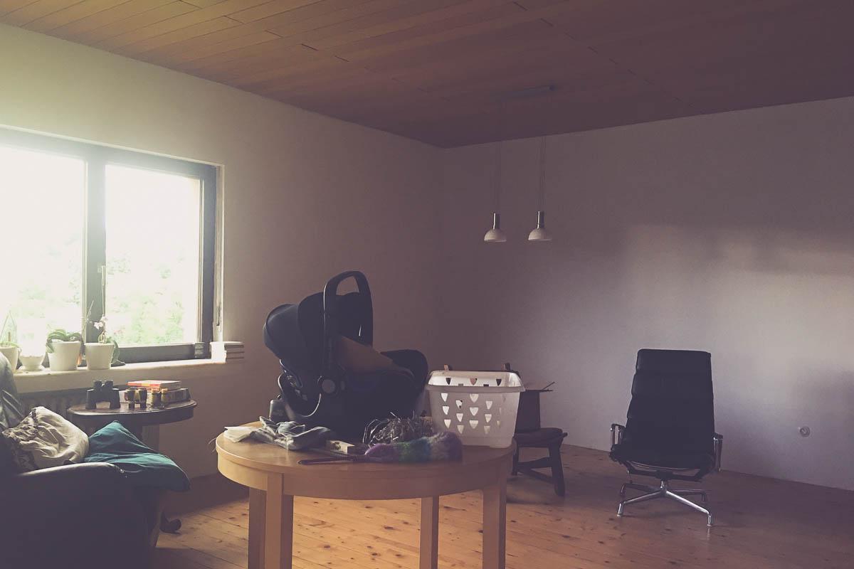 Wohnzimmerumzug