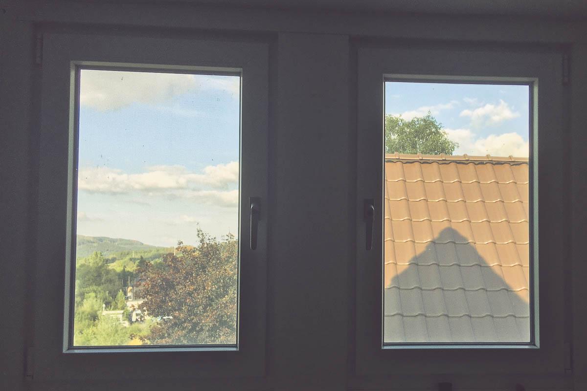 Fenstergriffe mit Schloss